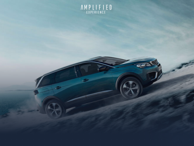 Peugeot 5008 - Amplified Experience 2
