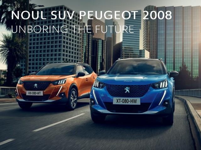 Noul SUV Peugeot 2008 - HP banner mobile