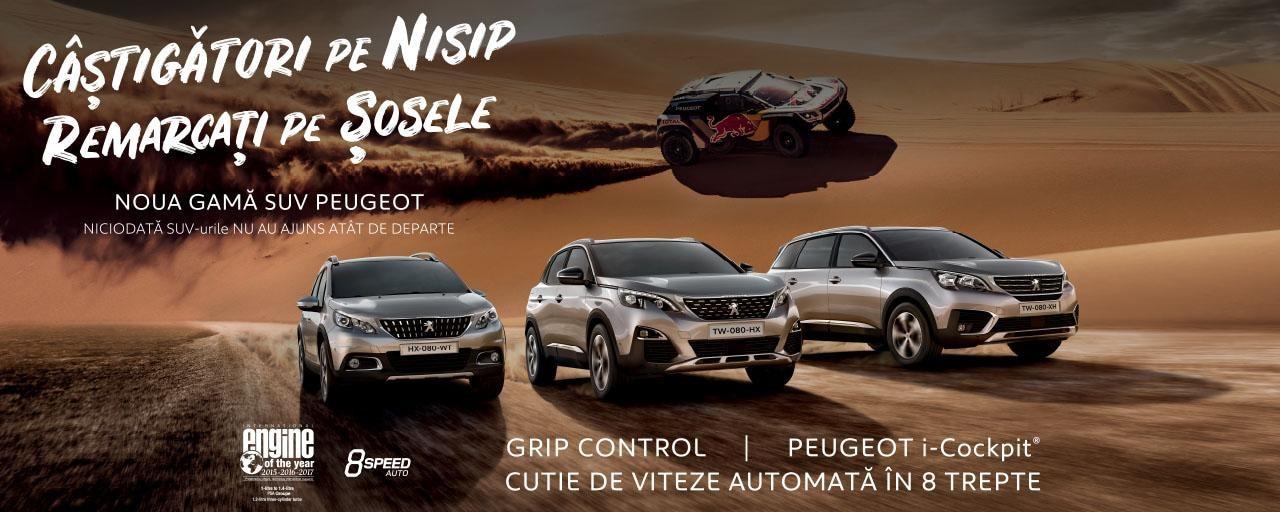 Peugeot - Campanie SUV 2018