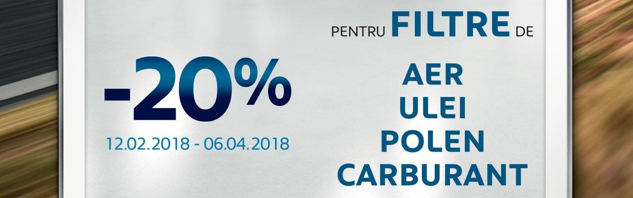 20% REDUCERE - ELEMENTE FILTRARE