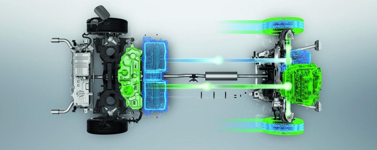 Tehnologia PHEV Peugeot - baterie