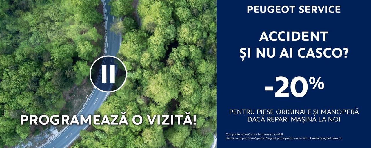Peugeot Romania - oferta reparatii in regie proprie 2020