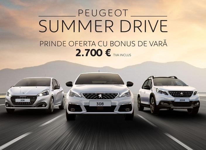 PEUGEOT Summer Drive 2019 - slideshow mobile