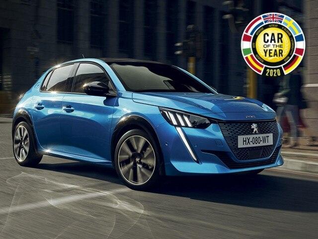 Noul Peugeot e-208 - COTY 2020