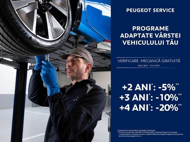 Peugeot Service Plus 2021