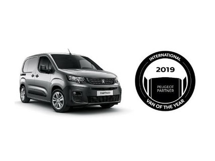 Peugeot Partner - Van of the Year 2018