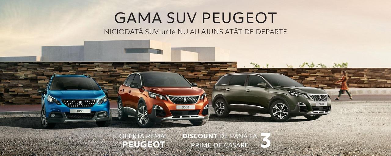 Gama SUV Peugeot - Campanie toamna 2019, cu oferta