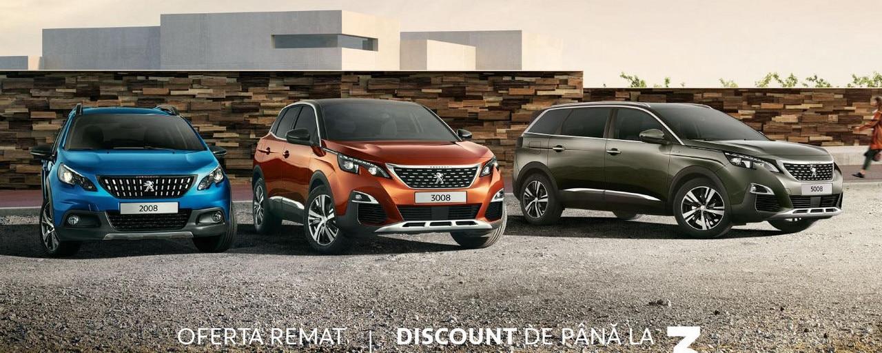 Gama SUV Peugeot - Campanie toamna 2019, cu oferta, mobile