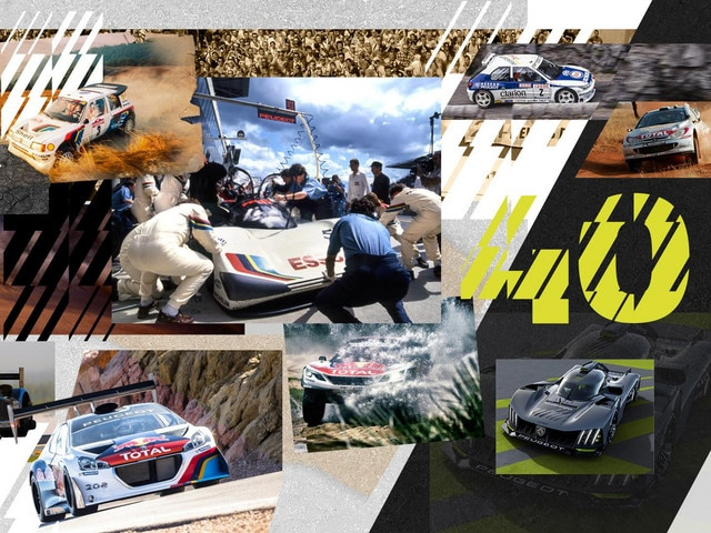 Peugeot SPORT - 40 de ani
