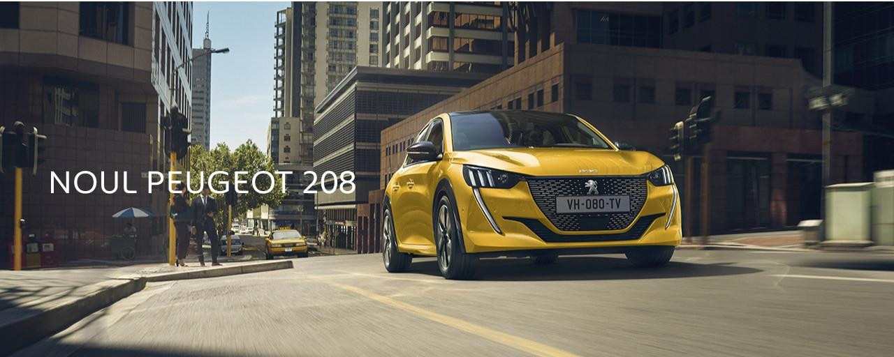 Noul Peugeot 208 - Home Page slider