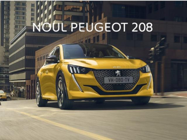 Noul Peugeot 208 - Home Page slider, mobile