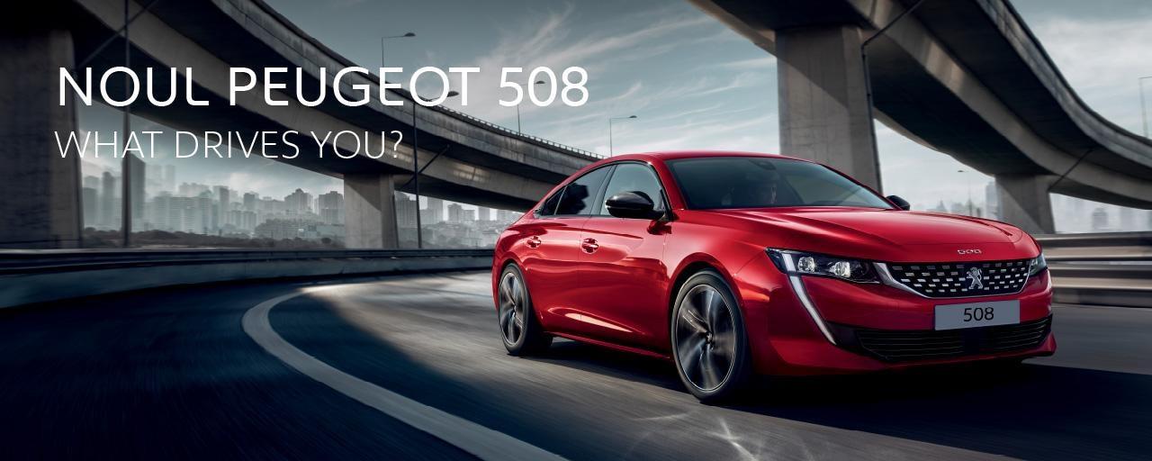 Noul Peugeot 508 - Campanie 2019
