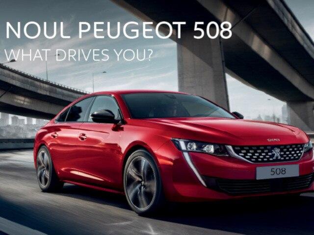 Peugeot 508 - banner HP mobile