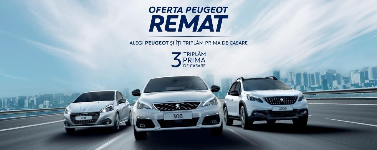 PEUGEOT REMAT - aprilie 2019