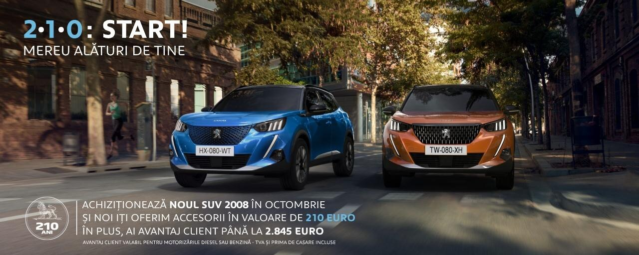 Peugeot - oferta 210 ani