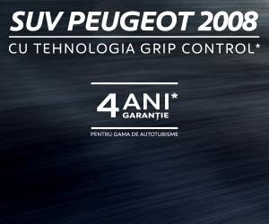 Peugeot 2008 banner homepage