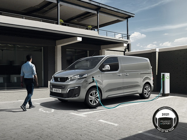 Peugeot e-Expert - International Van of the Year 2021