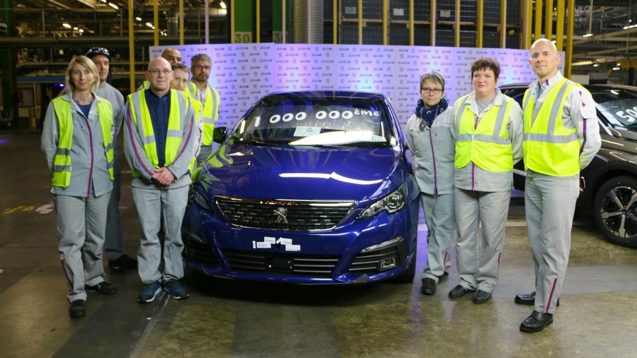Peugeot 308 - fabrica Sochaux