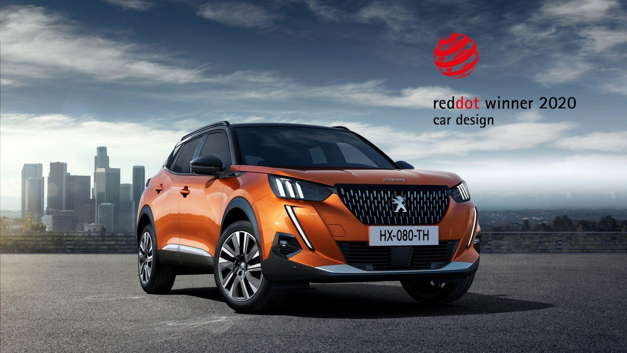 Noul SUV Peugeot 2008 - Red Dot Design Award 2020