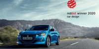 Noul Peugeot 208 - Red Dot Design Award 2020