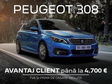 Peugeot 308 - oferta REMAT 2021