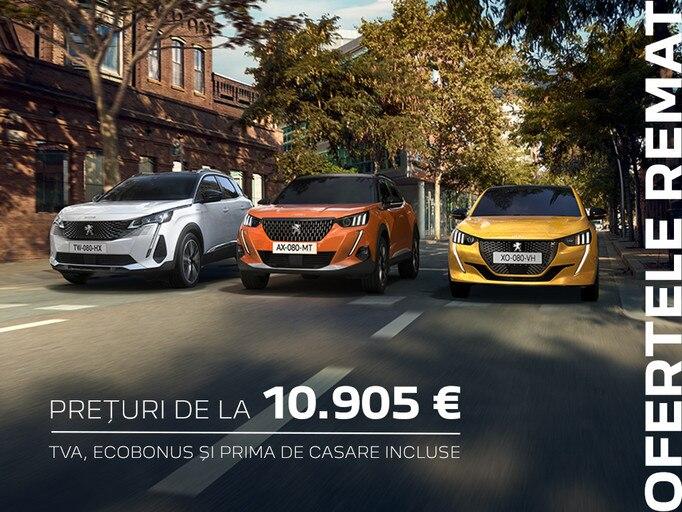 Ofertele Peugeot - REMAT 2021