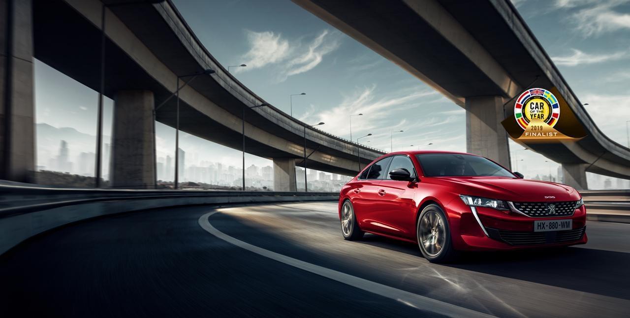 Noul Peugeot 508 - finalista COTY 2019