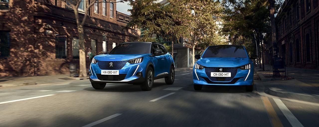 Peugeot - gama vehicule electrice