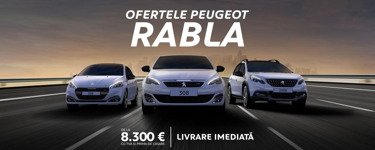Peugeot - Rabla 2018
