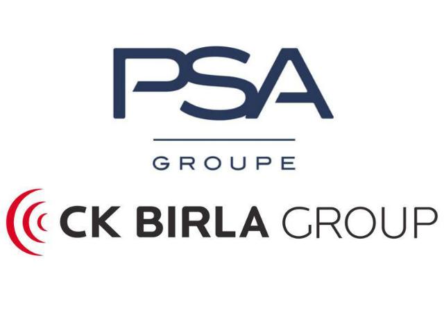 Parteneriat intre Grupul PSA şi Grupul indian CK Birla