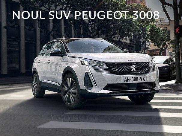 Noul SUV Peugeot 3008