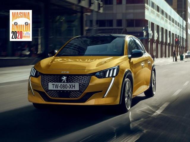 Peugeot 208 - Masina Anului 2020 in Romania