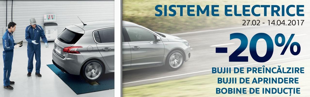 Elemente sistem electric Peugeot