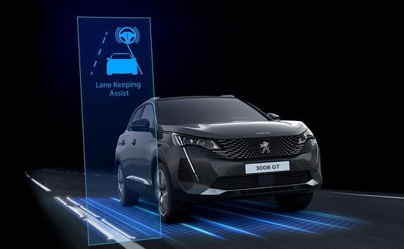 Noul Peugeot 3008 - Lane Departure Warning
