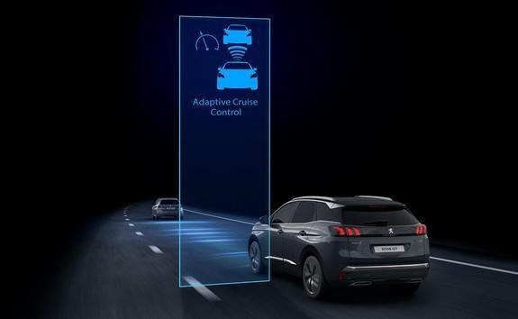 Noul Peugeot 3008 - Cruise control adaptiv cu funcție Stop