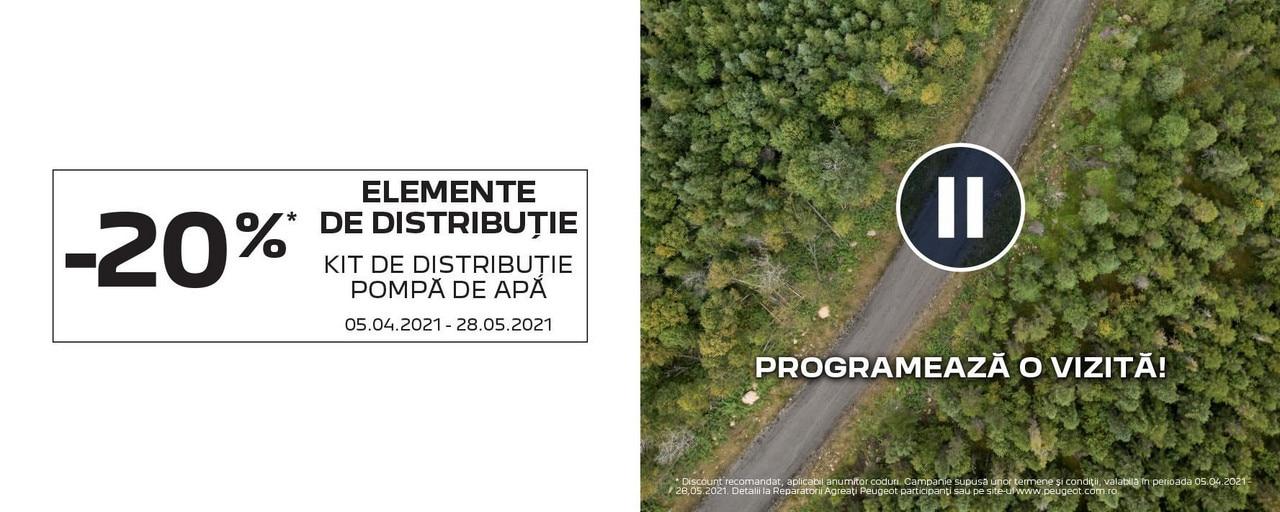 Peugeot - Promotie elemente distributie APR 2021
