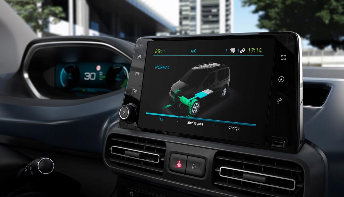 Noul Peugeot e-RIFTER