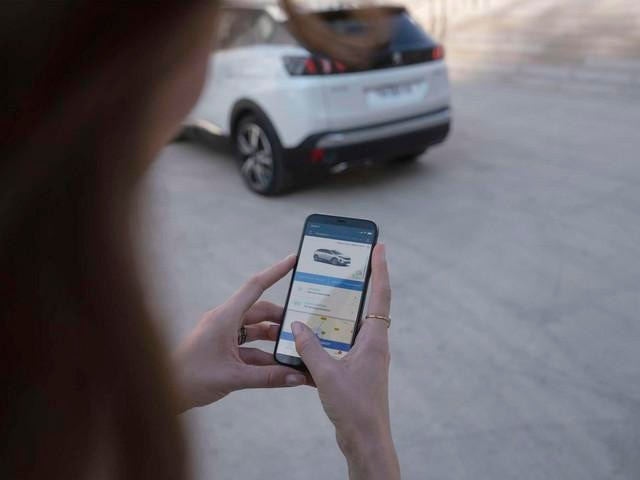 Noul Peugeot 3008 HYBRID - Aplicația MyPeugeot