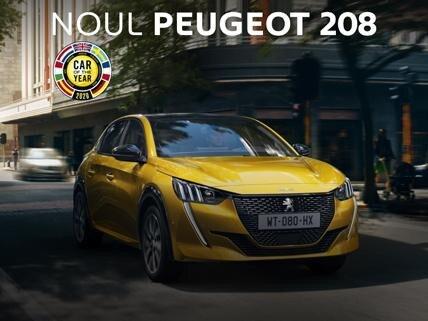 Noul Peugeot 208 - oferta REMAT