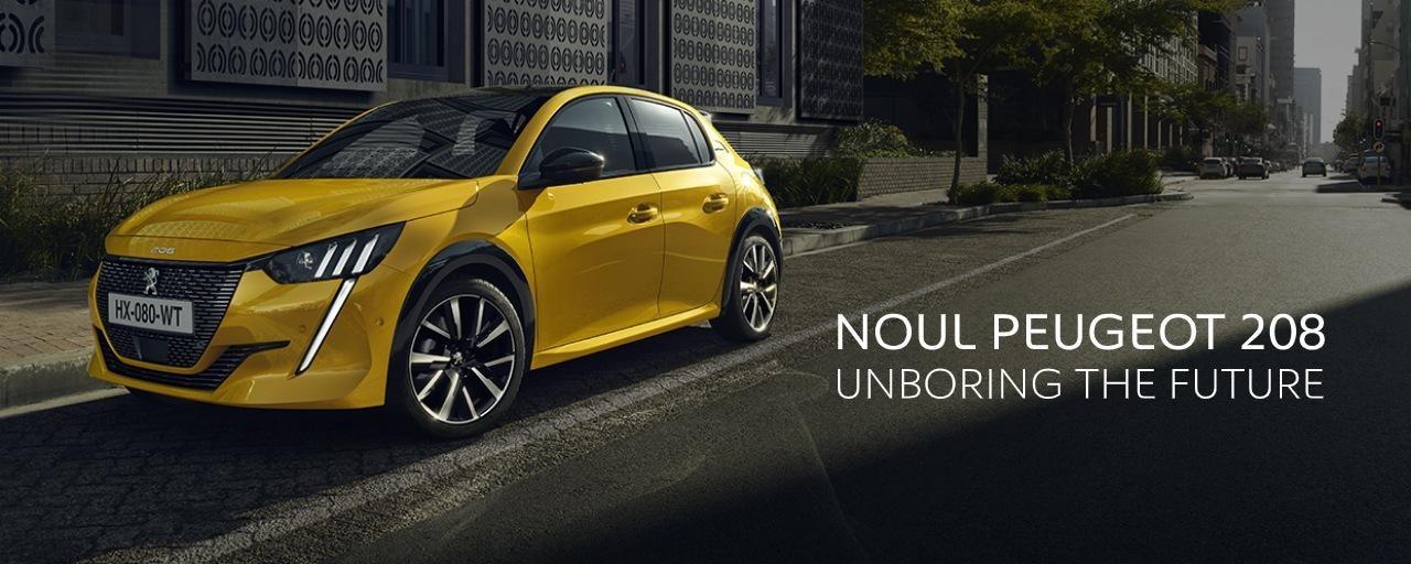 Noul Peugeot 208 - HP slideshow