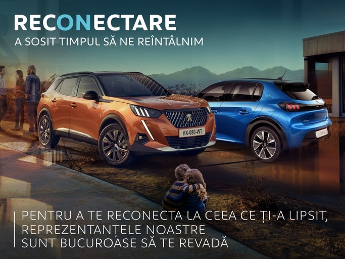Peugeot - RECONECTARE dupa COVID-19