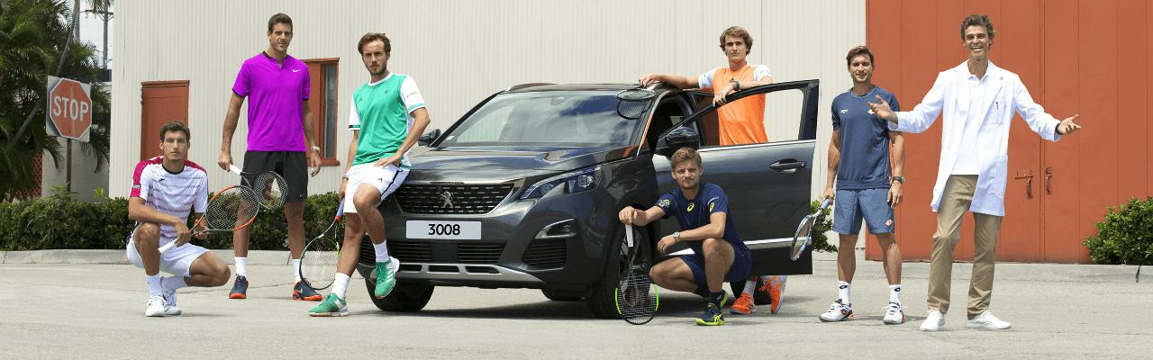 Peugeot parteneriat tenis