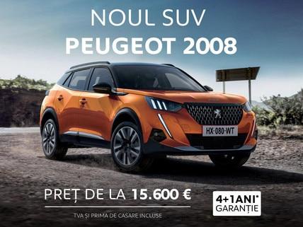 Noul SUV Peugeot 2008 - oferta REMAT 2020