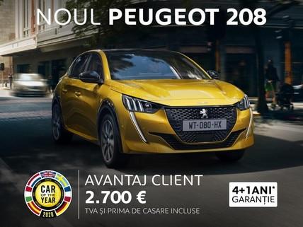 Noul Peugeot 208 - oferta REMAT 2020