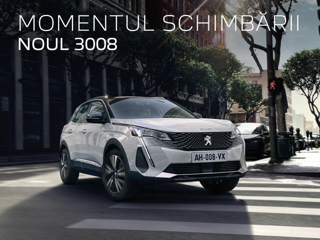 Peugeot 3008 - New Brand Identity