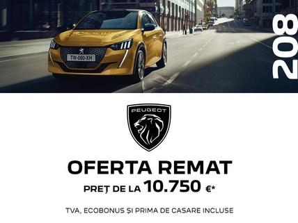 Peugeot 208 - Oferta REMAT 2021