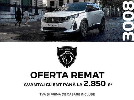 Peugeot 3008 - Oferta REMAT 2021