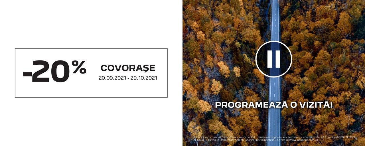 Peugeot - Promotie COVORASE SEP 2021