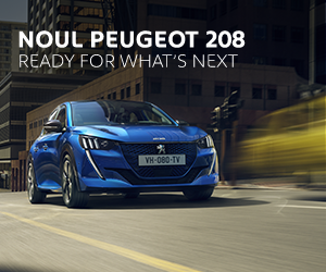 Noul SUV Peugeot 2008 - display HP